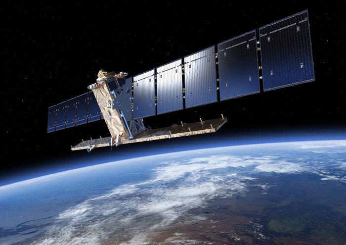 Sentinel-1. Credit: ESA/ATG medialab