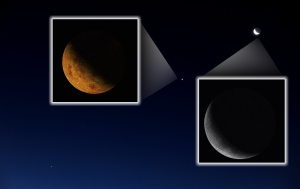 Stellarium screenshots in irl-image
