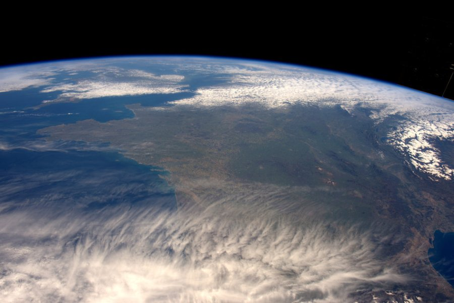 South western Europe. Credit: Tim Peake